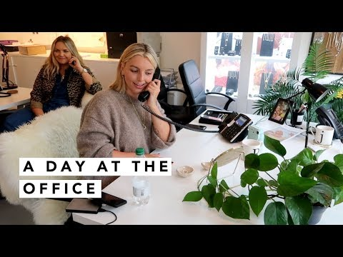 A DAY AT THE OFFICE | Estée Lalonde