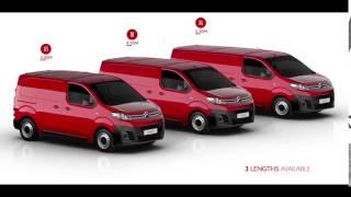 Nuovo Citroën Jumpy – 3 lunghezze disponibili