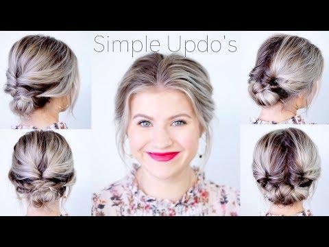 Simple Elegant Updo Hairstyles For Medium Length Hair | Milabu