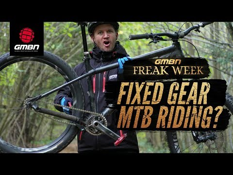 Can You Ride A Fixed Gear Mountain Bike"