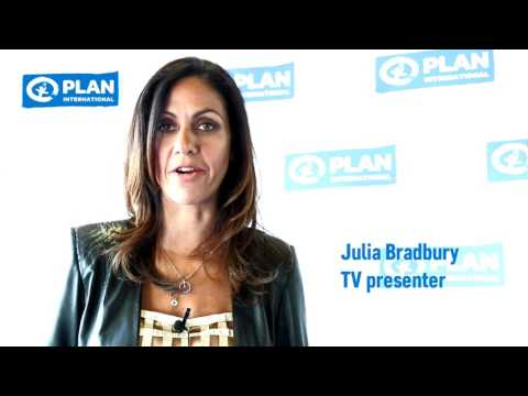 Julia Bradbury supports ending child marriage in Malawi