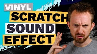 Vinyl Scratch Sound Effect on DJ Drops