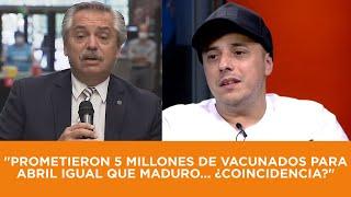 Dipy se tiró directo a Alberso Maduro: