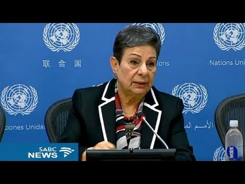 Dr Hanan Ashrawi laments the supreme provocation of extracting Jerusalem from the heart of Palestine