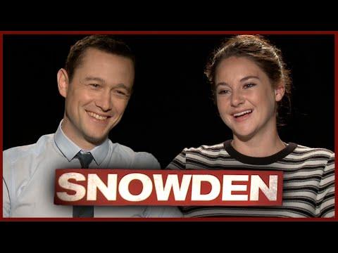 Shailene Woodley & Joseph Gordon-Levitt Try A Lie Detector Test - SNOWDEN
