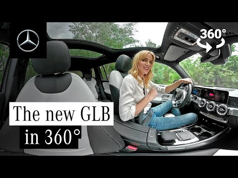 Off-road with Miss Germany | The New GLB in 360°