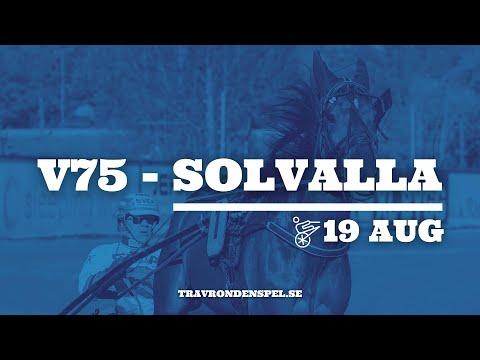 Travtips V75 Solvalla - 19 augusti 2020