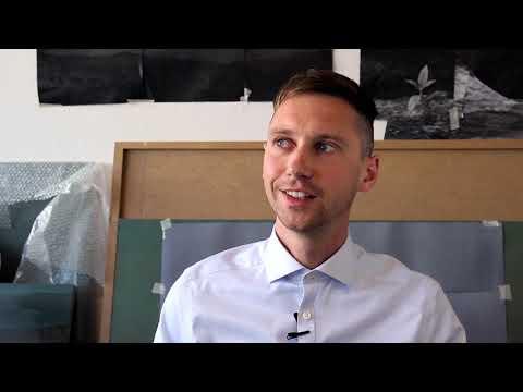 Jonas Malmberg är årets Fredrik Roos Stipendiat 2018
