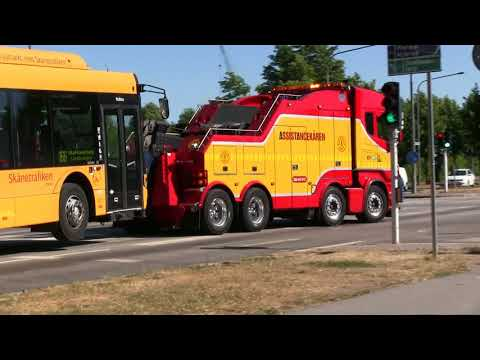 Heavy Recovery Truck Scania 560  vs  Urbino 15