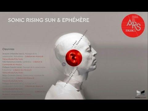 Sonic Rising Sun - Ars Musica - Halles de Schaerbeek 2016