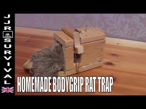 Homemade Bodygrip Rat Trap