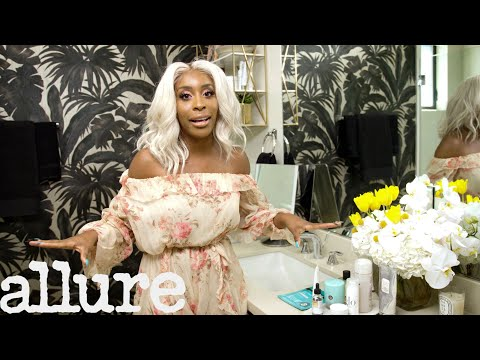 Jackie Aina's Lavish Bathroom Tour | Allure