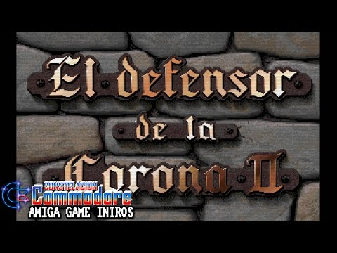 Amiga Game Intro: El Defensor de la Corona II (ESP) CDTV-CD32 (Sachs Enterprises/Commodore Int,1993)