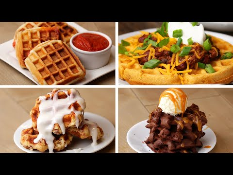 7 Waffle Recipes To Keep Your Kids Busy ? Tasty Recipes