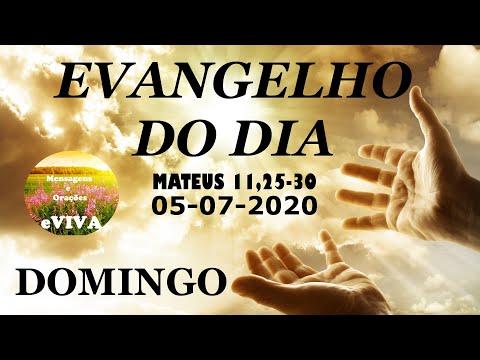 EVANGELHO DO DIA 05/07/2020 Narrado e Comentado - LITURGIA DIÁRIA - HOMILIA DIARIA HOJE