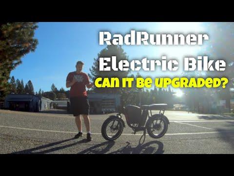 Upgrading the Radrunner Ebike