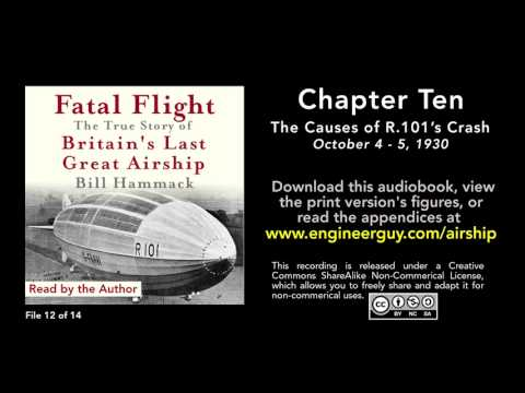 connectYoutube - Fatal Flight audiobook: Chapter Ten: The Causes of R.101's Crash (12/14)