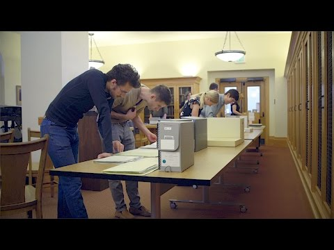 Massively Multiplayer Humanities introduces Stanford students to the archives