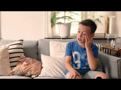 Enzo, 11 år berättar om sitt drömrum: