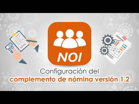 Complemento de Nómina 1.2 en Aspel-NOI 8.0