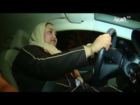 رنا عطوفه.. سعودية انطلقت بسيارتها عند 12:01 صباح الأحد التاريخي