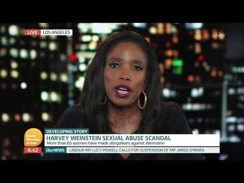 Civil Rights Lawyer Comments on Harvey Weinstein Sexual Abuse Scandal | Good Morning Britain