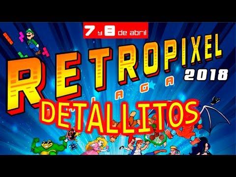 DETALLITOS RETROPIXEL 2018