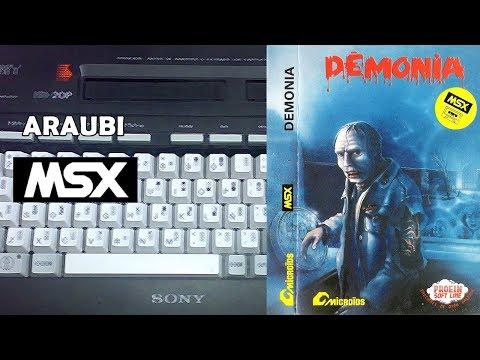 Demonia (Microids, 1986) MSX [725] Walkthrough Comentado