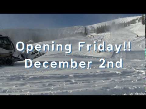Opening day is Friday December 2nd!