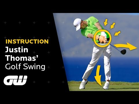 "Justin Thomas Analyses His ""Funky"" Golf Swing 