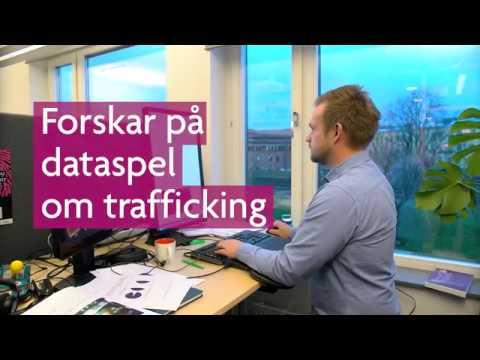 Forskar på dataspel om trafficking