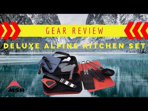 BASE-CAMP Kitchen: MSR Alpine Deluxe Kitchen Set REVIEW