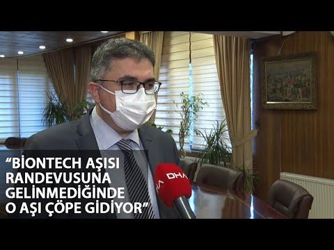 Prof. Dr. Tükek : Randevuya Gelinmeyince Biontech Aşıları Ziyan Oldu