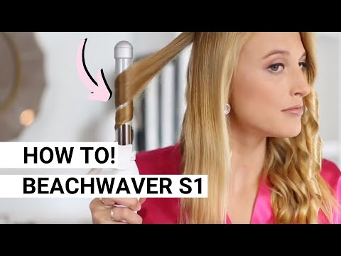 Get Victoria's Secret angel waves using the Beachwaver®  S1!