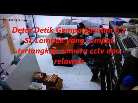Detik Detik Gempa 6,2 SR  Kembali Mengguncang Lombok 9 Agustus