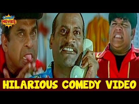 Best Comedy Videos | Brahmanandam Best Comedy | Evadi Gola Vadidi Telugu Movie | Telugu Comedy Films