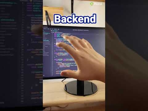 La diferencia entre frontend y backend