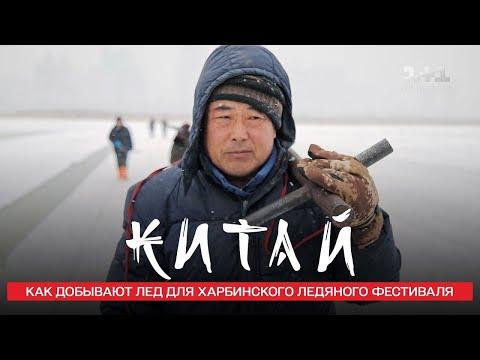 Как добывают лед для Харбинского ледяного фестиваля. Китай. Мир наизнанку 11 сезон 4 выпуск