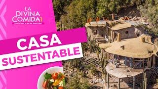 INCREÍBLE: Así luce la casa ecológica que construyó Pangal - La Divina Comida