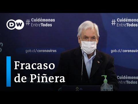 El presidente chileno fracasa en su oposición al retiro anticipado de las pensiones