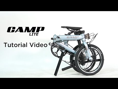 CAMP LITE lightweight foldable bicycle | Tutorial