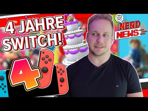 Die Nintendo Switch ist 4 Jahre alt!