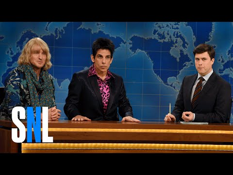 connectYoutube - Derek Zoolander & Hansel (Weekend Update) - SNL