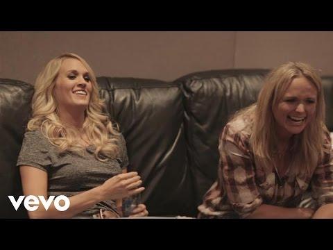 connectYoutube - Miranda Lambert - Somethin' Bad (duet with Carrie Underwood) - Studio Behind The Scenes