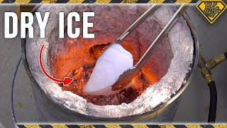 What Does DRY ICE Do in a Metal Foundry?