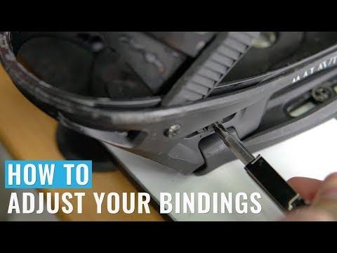 How To Adjust Your Bindings