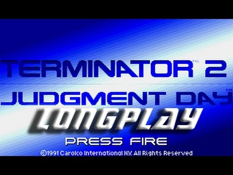 Terminator 2 Judment Day (Commodore Amiga) Longplay