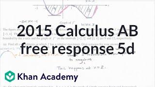 2015 AP Calculus AB 5d