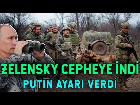 Başkomutan Sıfatıyla Cepheye İndi! Kararı Putin Verecek!
