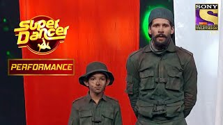 Gourav and Amardeep's Patriotic Performance | Super Dancer Chapter 3 - SETINDIA